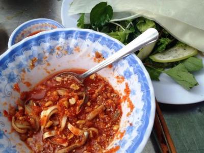 Đặc sản gỏi cá ướt Đà Nẵng