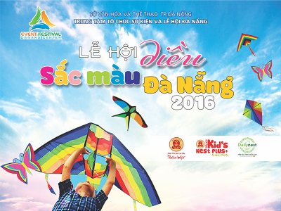 """Chương trình chi tiết """"Lễ hội Diều- Đà Nẵng Sắc màu 2016"""""""