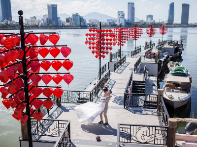 Cầu tình yêu Đà Nẵng – điểm hẹn lý tưởng cho ngày Valentine